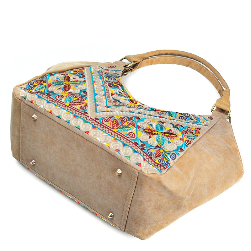 PU Leather Bohemian Handbag