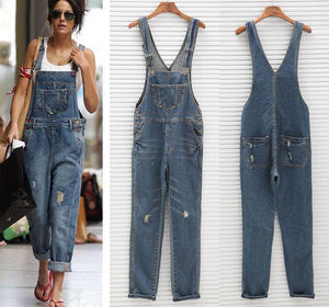Women Denim Jumpsuit