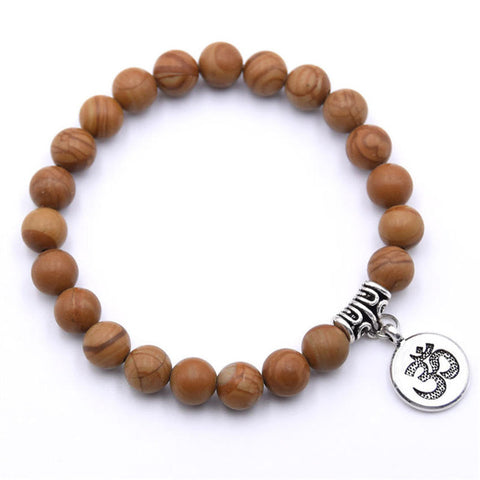 Image of Natural Stone Mala Bracelet