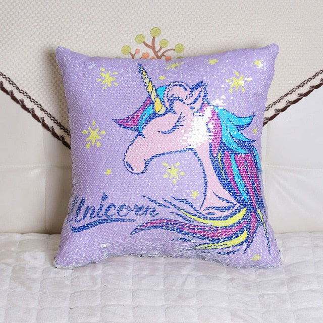 Unicorn Mermaid Cushion