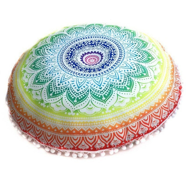 Mandala Meditation Cushion