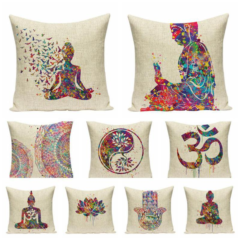 Buddha Cushion Zen