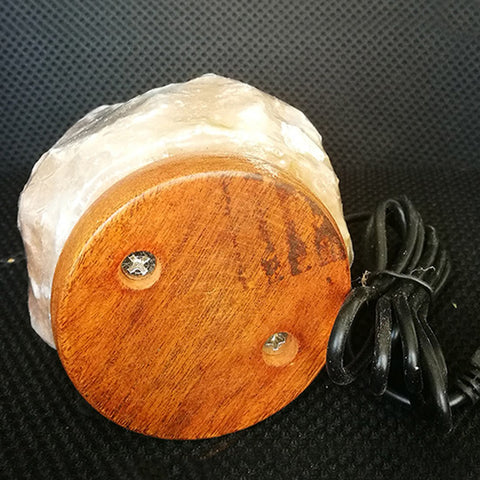 Image of Natural Hand Carved Himalayan Salt Lamp USB