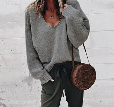 Image of Casual Knitted Sweater