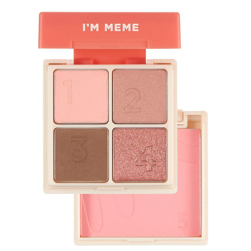 I'M Multi Cube -  001 All About Candy Pink - Eyeshadows - I'M MEME Memebox