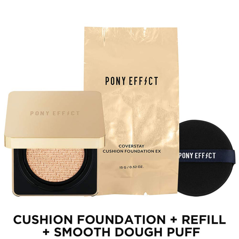 Coverstay Cushion Foundation Ex -   - Foundations - PONY EFFECT Memebox