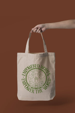 Empowered Women Empower The World Small Tote Bag - Polished Prints