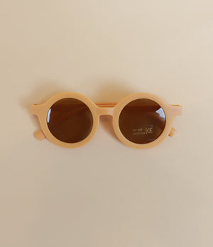 Toddler Round Retro Sunglasses, UV400 - Polished Prints
