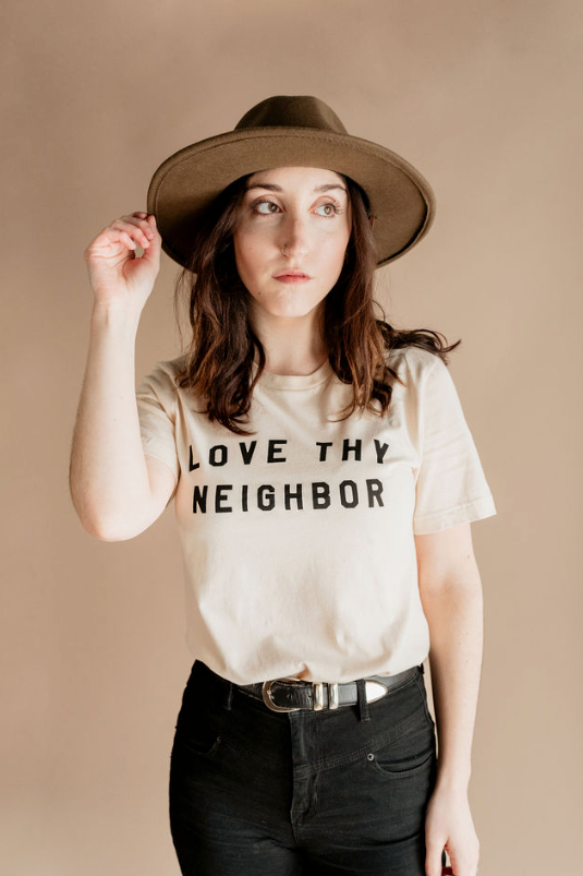 Love Thy Neighbor | Unisex - Polished Prints