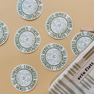Empowered Women Sticker - Polished Prints