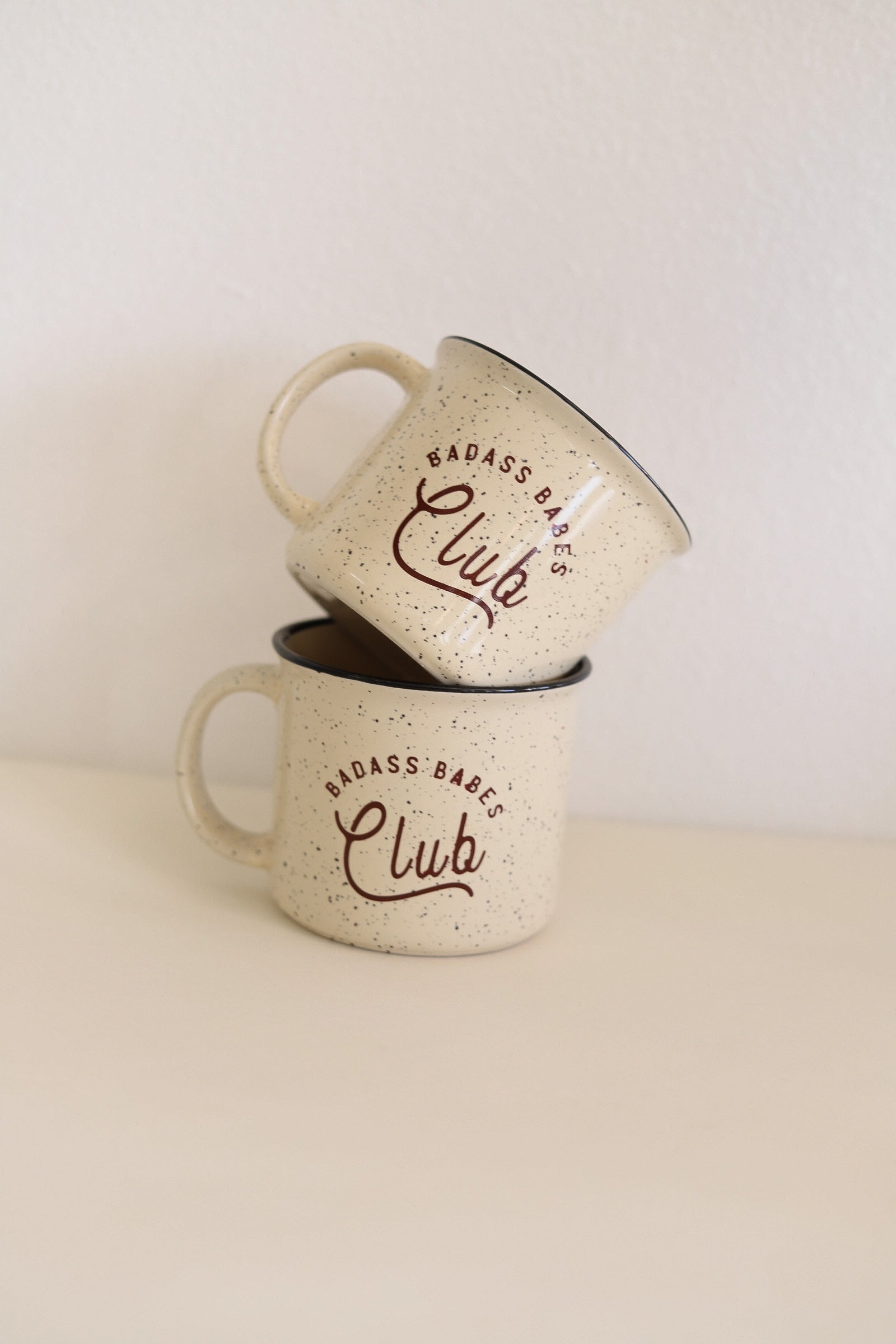 Badass Babes Club 13oz Campfire Mug - Polished Prints