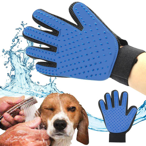 Pet Grooming and Massaging Gloves