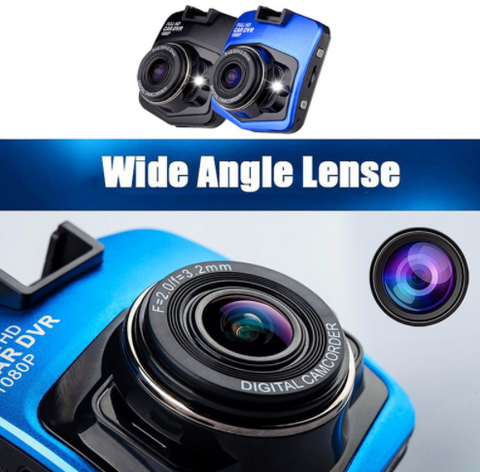 K4120 Dash Camera - 1080p HD Video Recording