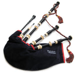 McCallum Highland Bagpipe - AB3 Deluxe - Engraved Slides
