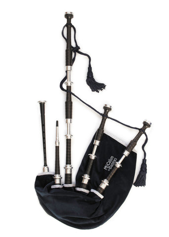 McCallum Highland Bagpipe - AB Engraved - Full Set