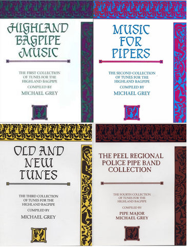 Michael Grey's Books 1 thru 4 (printed in Scotland)