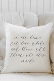In Our Home Let Love Abide Pillow