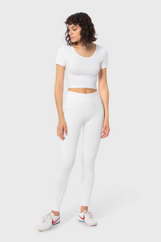 Anna Ponte Pant in White by Lola