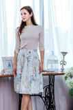 Botannical Midi Skirt