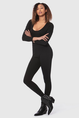 Anna Ponte Pant in Black by Lola