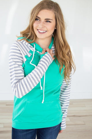Mint for You Raglan Hoodie