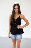 Button Down Tank | 13 Colors!