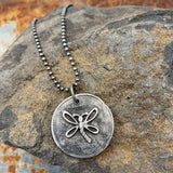 Gypsy Soul Pewter Pendant Necklace Jewelry