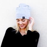 Pretty Simple -  Ponytail, Messy Bun Beanie, Multi-Function Face Cover Mask