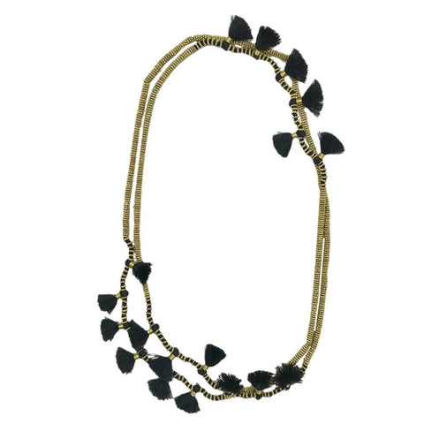 Krisha Tassel Necklace