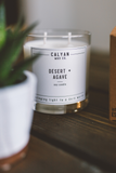desert and agave Calyan Wax Co candle