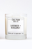 lavender and bergamot Calyan Wax Co. candle