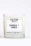 oakmoss and amber Calyan Wax Co. candle
