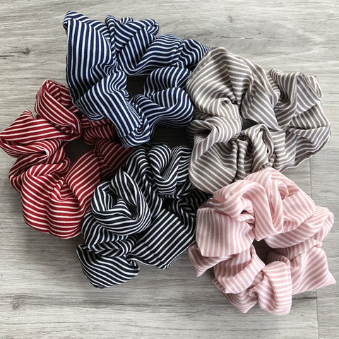 Scrunchies (hair ties) - Stripes