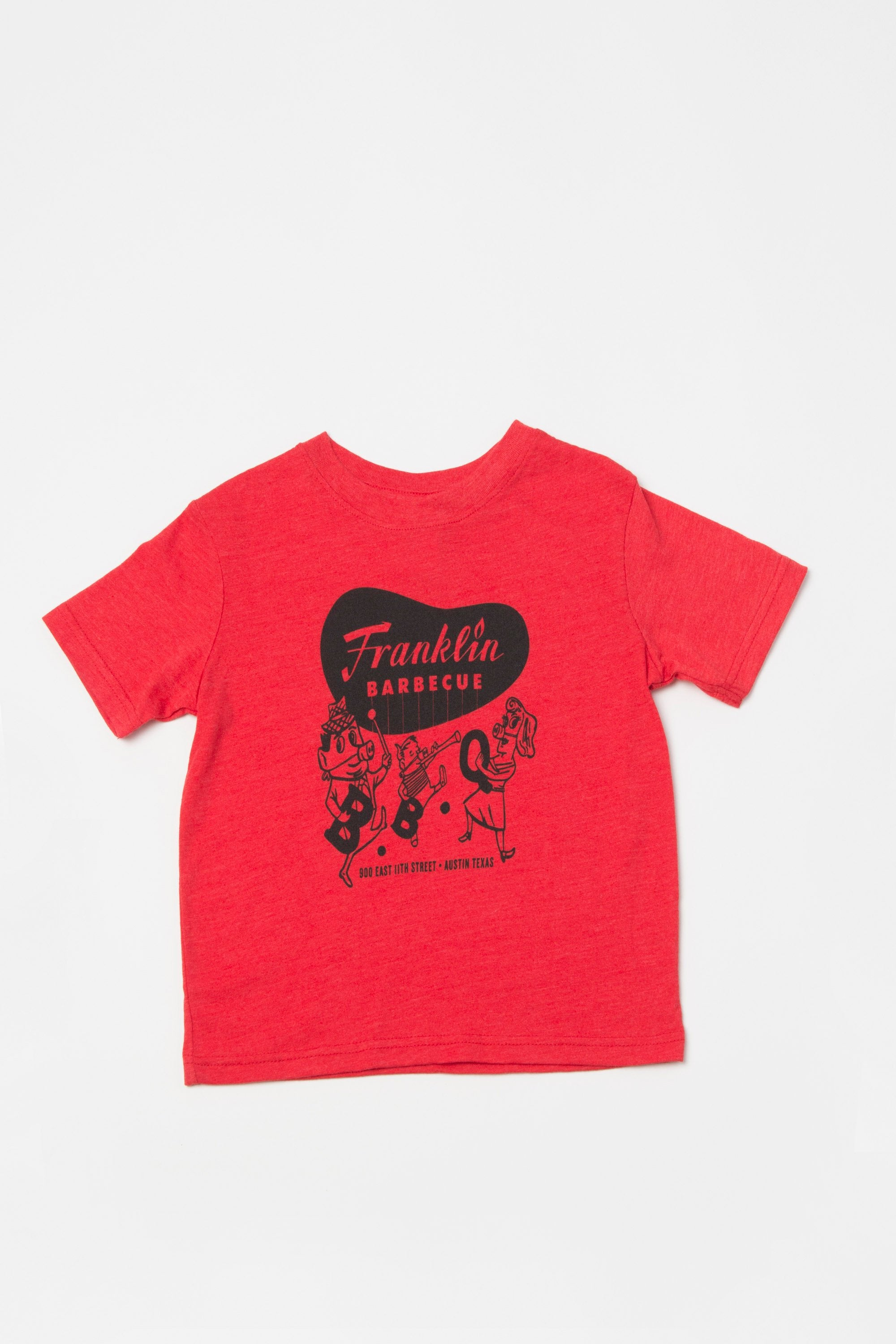 Toddler Kids Franklin Barbecue T-shirt