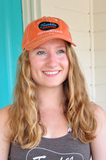 Orange Franklin Barbecue Hat