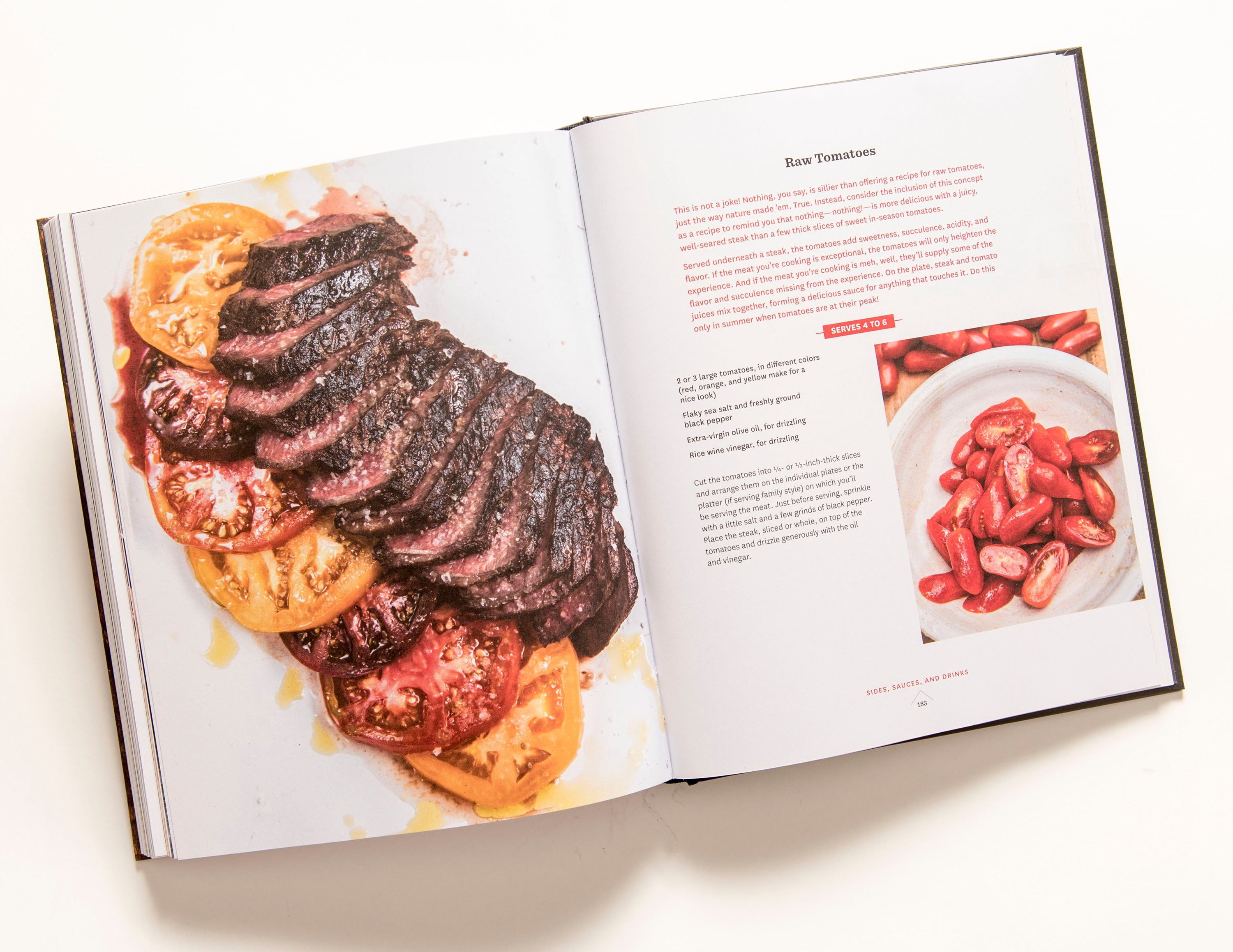 Signed Book: Franklin Steak