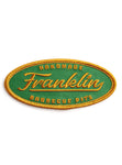 Franklin Barbecue Pits Oval Patch