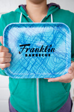 Small Franklin Barbecue Cafeteria Tray