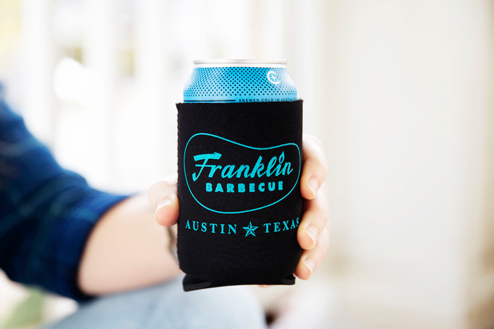 Franklin Barbecue Koozies