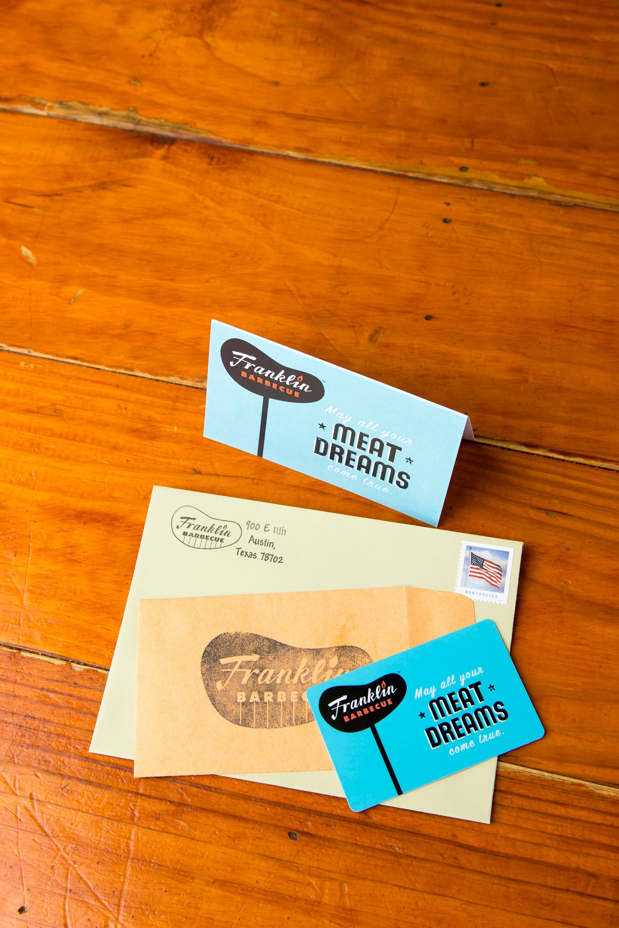 Franklin Barbecue Gift Cards