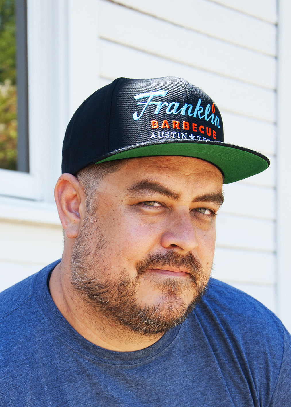 Black Franklin Barbecue Cap