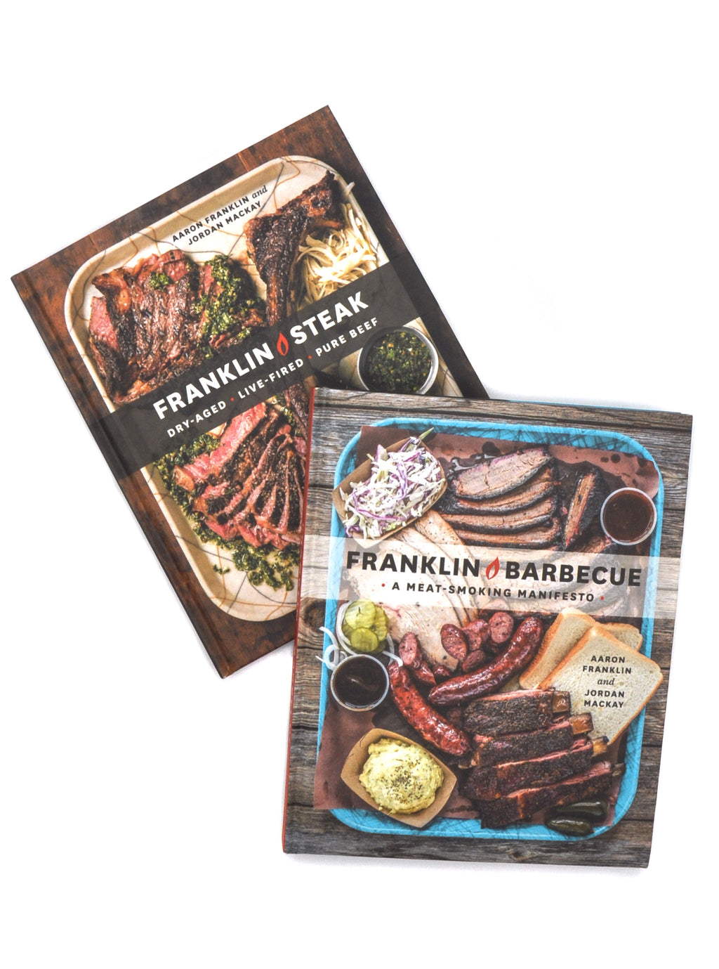 Signed Books Combo: Franklin Barbecue: A Meat-Smoking Manifesto & Franklin Steak