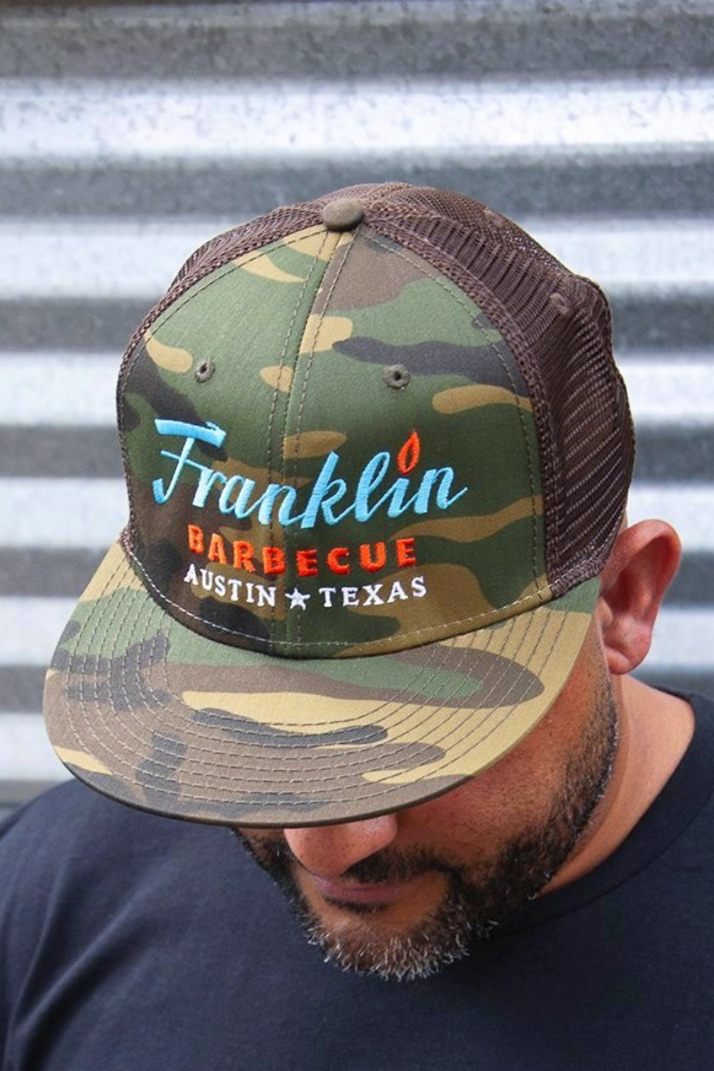 Camo Franklin Barbecue Hat