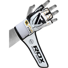 RDX F3 Leather MMA Gloves