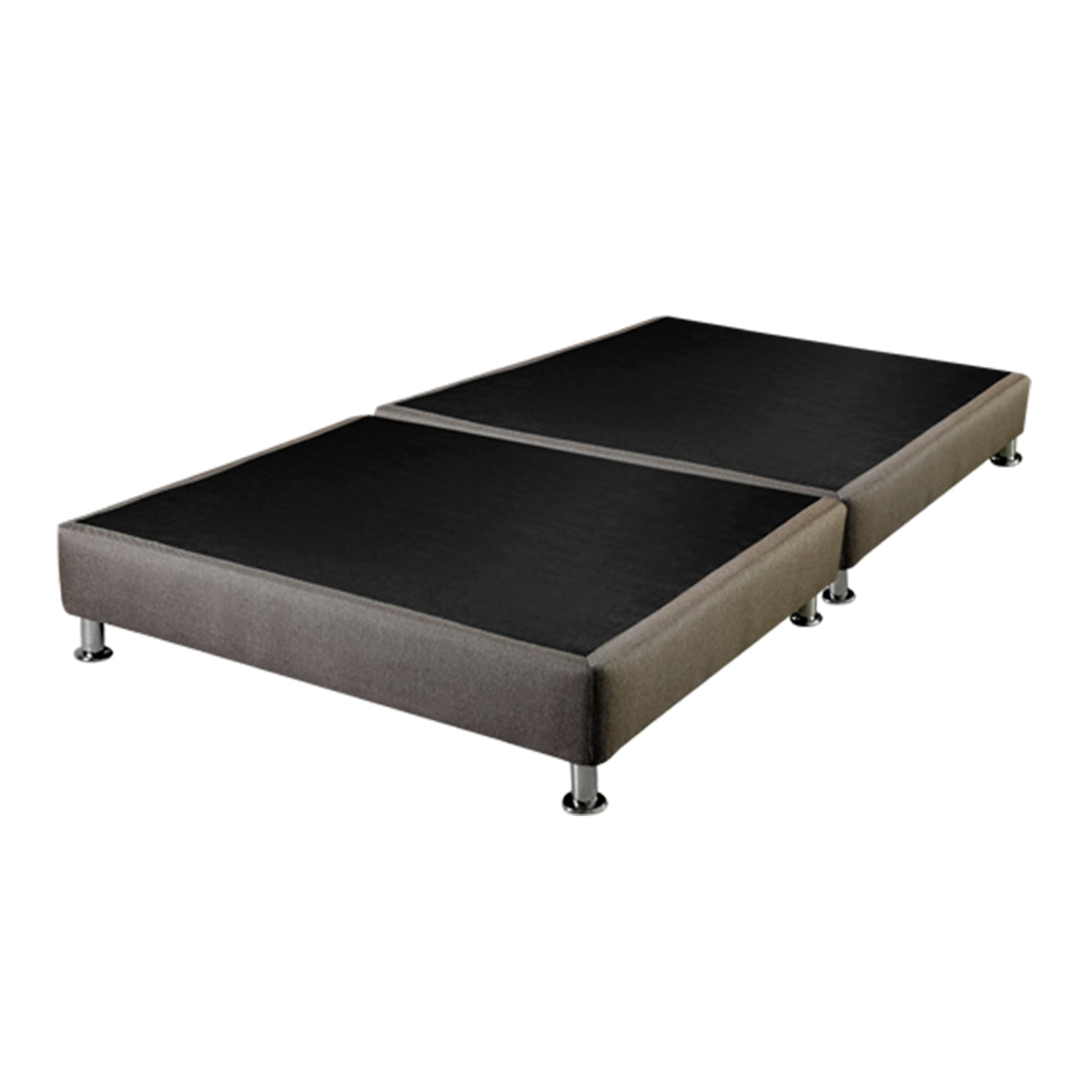 Base Cama Par King Imperial Marron