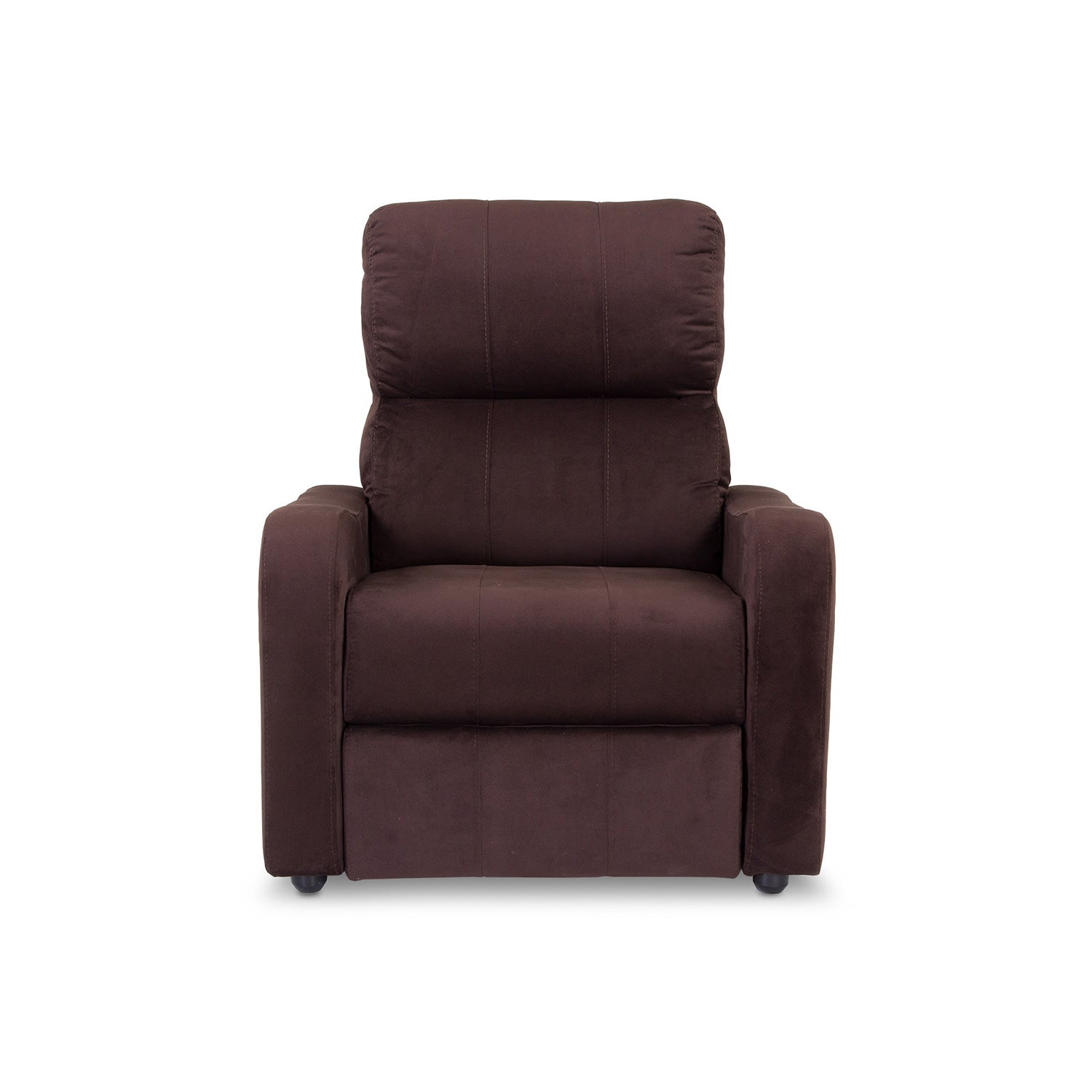 Silla Reclinable Daytona Microfibra Chocolate