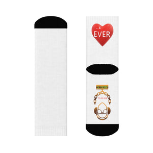 """4ever In My Heart"" Crew Socks"