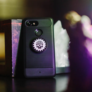 Skull Logo Pop Socket