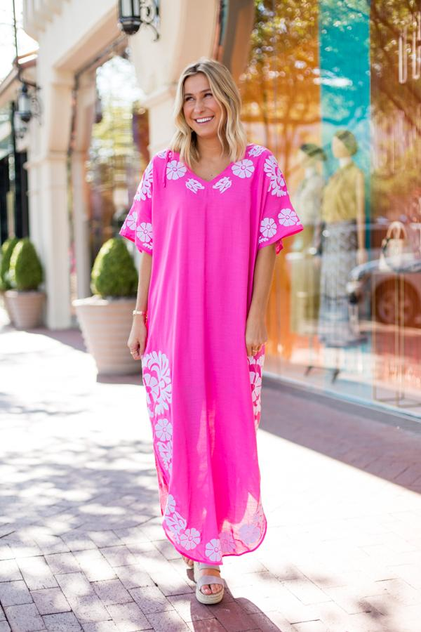 The Luna Dress - Pink