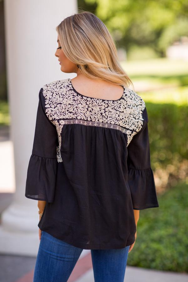 The Amanda Long Sleeve Top